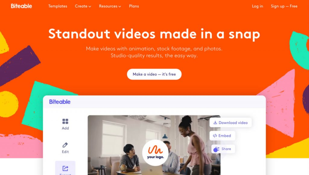 Biteable - Make Amazing Videos in Minutes