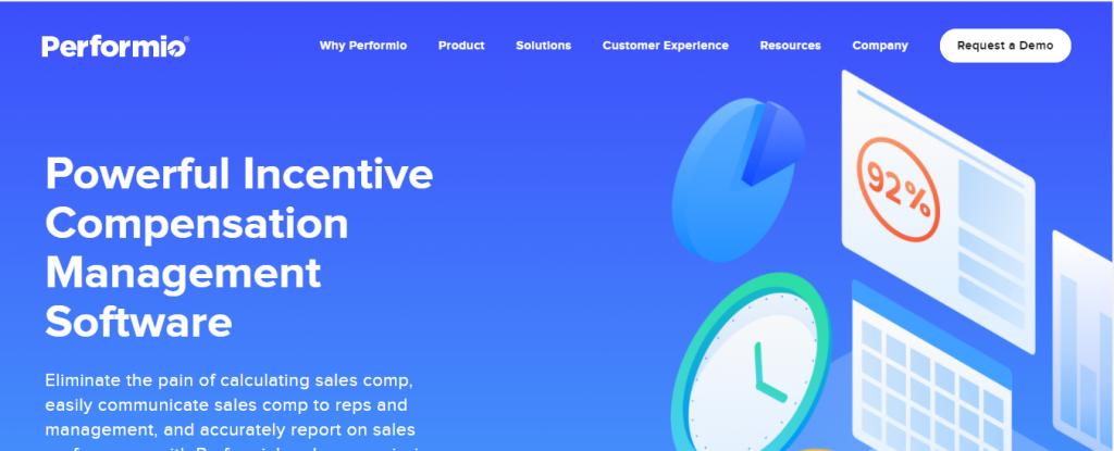 performio sales compensation software
