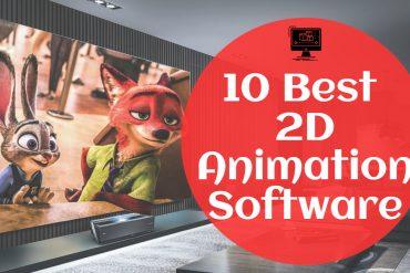 best 2d animation software