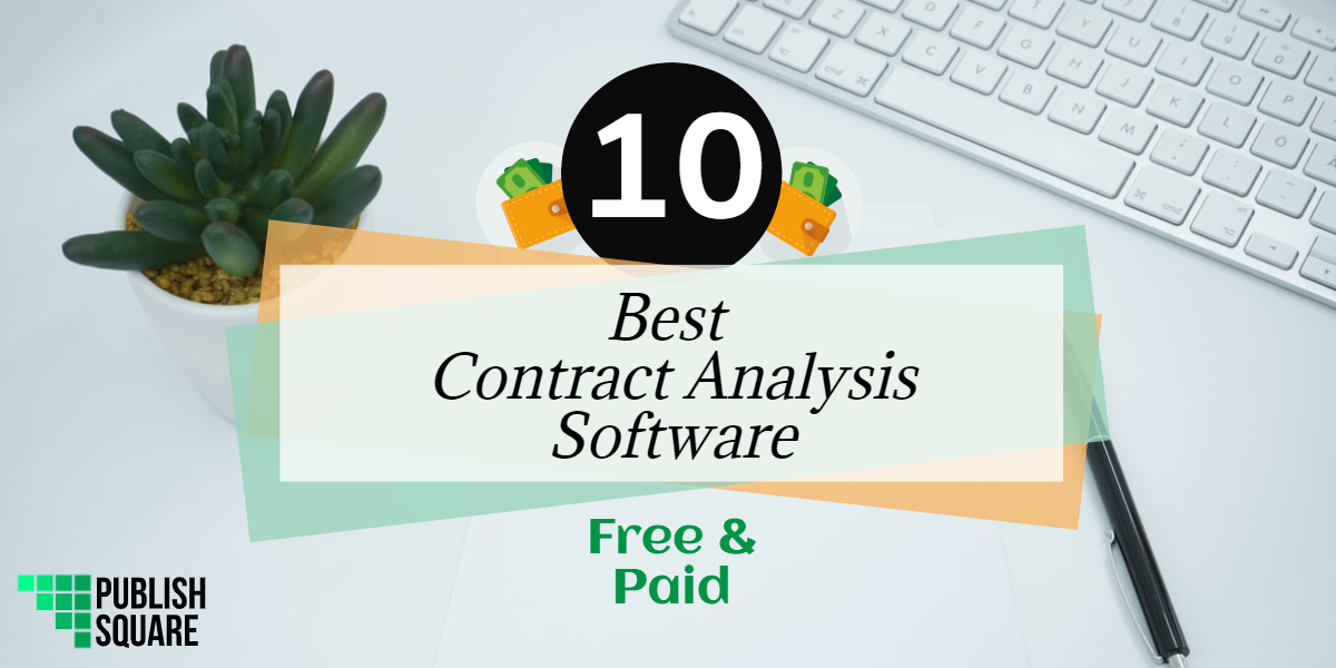 best contract analysis software