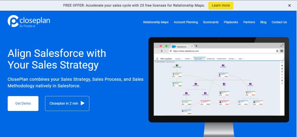 closeplan customer revenue optimization software