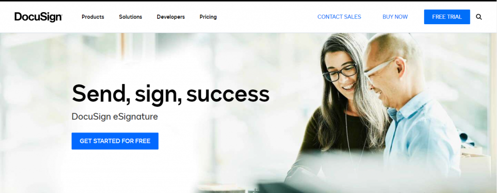 docusign e signature software free