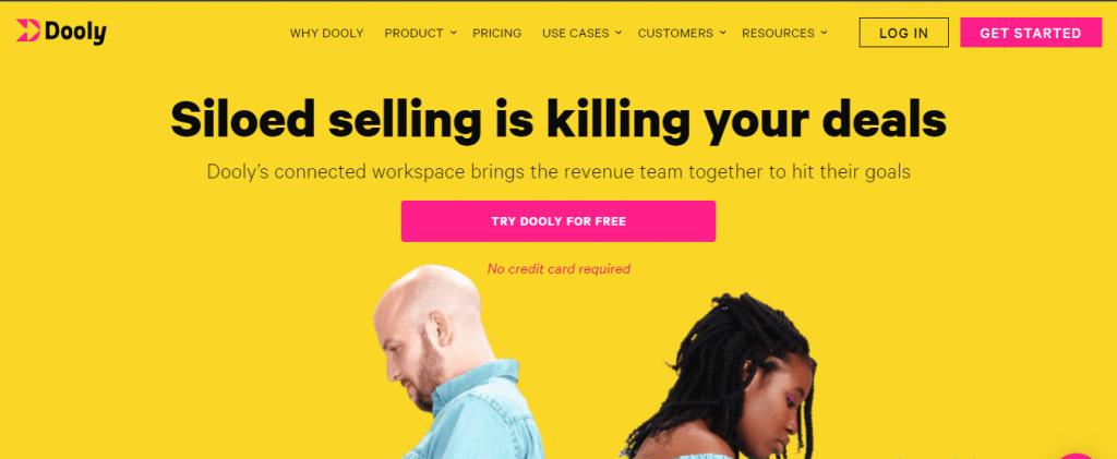Dooly.ai ai sales assistant software