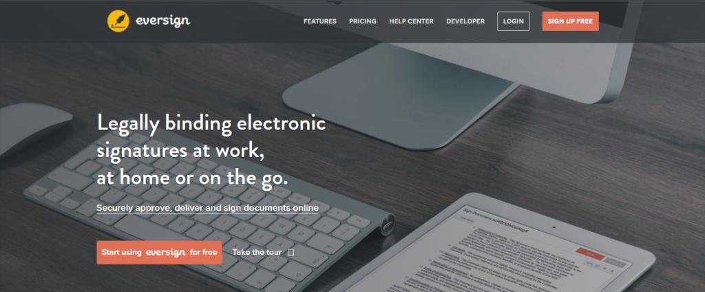 eversign e signature software free