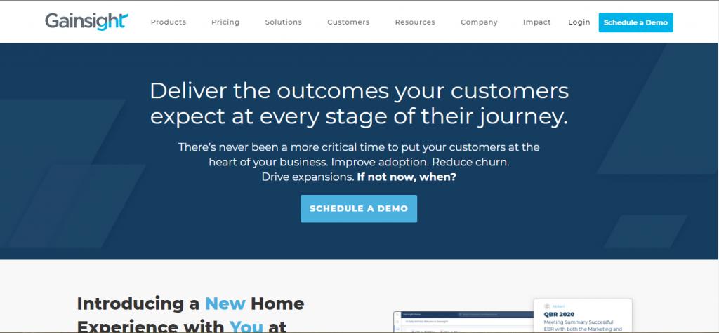 gainsight customer revenue optimization software