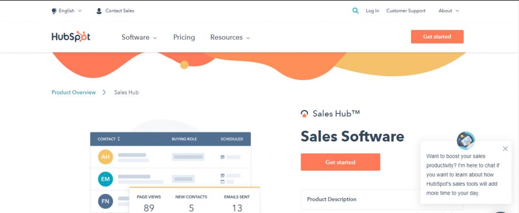 HubSpot Sales Hub Ai Sales Assistant Software