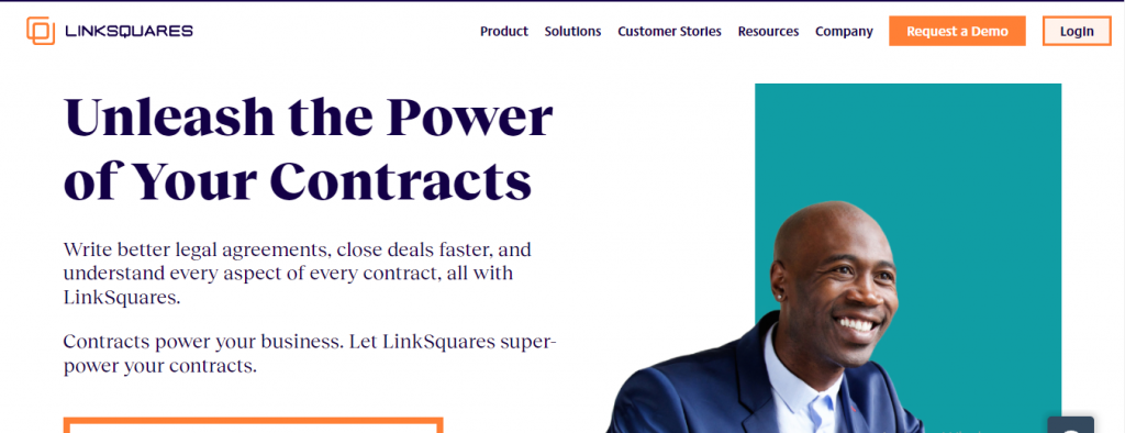 linksquares contract analysis software